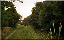 SU1461 : Stowell Park Footbridge 116, Kennet and Avon Canal by Dr Neil Clifton