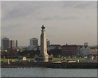 SZ6398 : The naval war memorial at Southsea by Diane Sambrook