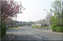 SE1225 : Welburn Avenue - Wakefield Road, Hipperholme by Betty Longbottom