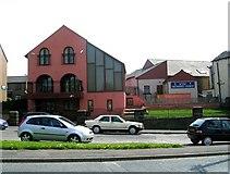 SE1527 : Wyke Methodist Church - Huddersfield Road by Betty Longbottom