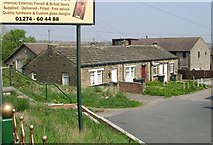 SE1527 : Cottages - Woodside Road by Betty Longbottom