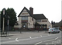 TQ1884 : Alperton: The Chequers public house by Nigel Cox