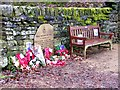 SE0138 : The Tewitt Lane Memorial, Oakworth by Allan Friswell
