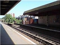 TQ2863 : Wallington Station, platform 1 looking east by Rich Tea
