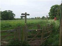 SO8453 : Worcester Battlefield - Chapter Meadows by John M