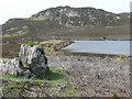 NN9561 : Unnamed reservoir below Ben Vrackie by Russel Wills
