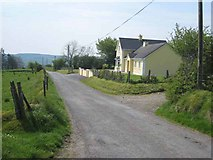 G8318 : House on the road from Carrane Hill to Geevagh by Oliver Dixon