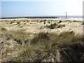 TG4128 : Sand and marram grass by Evelyn Simak