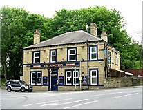 SE1421 : The Junction - Toothill Bank, Rastrick by Betty Longbottom