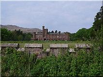 NM4099 : Kinloch Castle, Isle of Rum by Calum McRoberts
