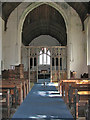 TG4028 : St Andrew's church - view east by Evelyn Simak