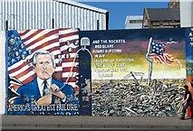 J3274 : Mural, Falls Road, Belfast [5] by Rossographer