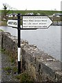 "G8903 : ""Fishing"" signpost at Cootehall by Oliver Dixon"