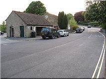 SK2572 : Baslow - Bus Stop off the A619 by Alan Heardman