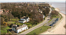 TA0225 : Cliff Road and Hessle Foreshore by Peter Church