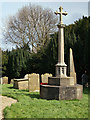SE9652 : War Memorial, Bainton by Peter Church