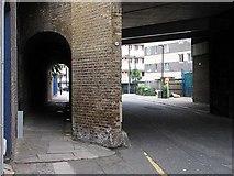 TQ3680 : Ratcliffe Lane, London E14 by John Salmon