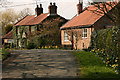 SE9652 : Two cottages in Bainton by Peter Church
