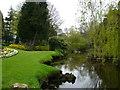 SK3448 : Garden lake by Tony Bacon