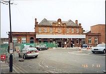 NT9953 : Berwick upon Tweed   Railway Station by Stanley Walker