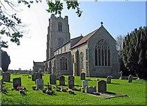 TG0400 : St Andrew's Church, Deopham, Norfolk by John Salmon