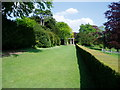 TQ1452 : Long Walk, Polesden Lacey by Peter Holmes