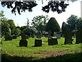 TL0643 : Wilstead Churchyard by Robin Drayton