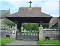 SE9645 : The Lychgate, St. Mary's, South Dalton by Peter Church