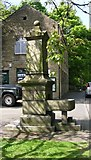SE0125 : Drinking Fountain - Cragg Road, Mytholmroyd by Betty Longbottom