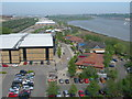 TQ7267 : Medway Valley Leisure Park by Danny P Robinson