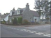 NJ6201 : Junction of Grampian Terrace with St Marnan's Road (B933) by Stanley Howe