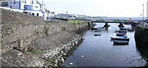 """C8540 : """"The wee dock"""", Portrush by Kenneth  Allen"""