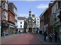 SU8604 : Market Cross seen from South Street by Keith Edkins