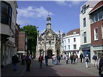 SU8604 : Market Cross seen from East Street by Keith Edkins