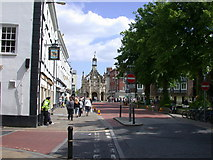 SU8604 : West Street with view of the Market Cross by Keith Edkins