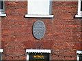 Photo of John Keats black plaque