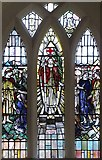 TM1579 : St Andrew's Church, Scole, Norfolk - Window south aisle by John Salmon