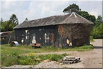 TM0461 : Barn at Dagworth Hall by Bob Jones