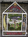 SK3658 : Brackenfield Well Dressing 2008 by Alan Heardman