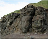 C9444 : Rocks near the Giant's Causeway by Rossographer