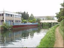 TQ1579 : Grand Union Canal bridge 205a - Trumpers Way by David Hawgood