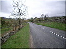 SD7992 : Looking along the A684 towards Garsdale by Nick Mutton