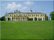 TQ1352 : South elevation Polesden Lacey by Peter Holmes