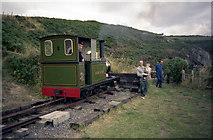 SC4278 : 'Sea Lion' at the Groudle Glen railway by Dr Neil Clifton