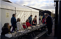 TQ4023 : Chess training at Sheffield Park by Dr Neil Clifton