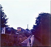 SW8132 : Falmouth Town station 1972 by Peter Whatley