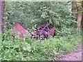 SU6456 : Wrecked car 3 by Sandy B