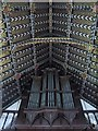 TL8093 : St Leonard's Church, Mundford, Norfolk - Chancel roof by John Salmon