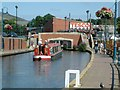 SJ9698 : Huddersfield Narrow Canal at Stalybridge by Gerald England