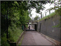 TL4661 : Cycle tunnel beside Milton Road by Keith Edkins